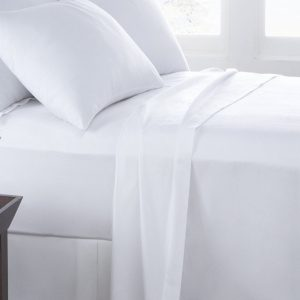 White Fitted Set Bedding a london brand
