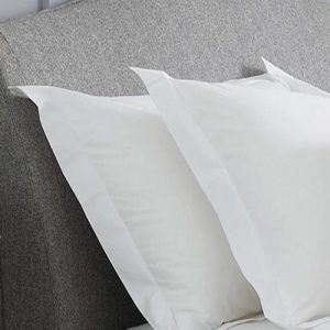 Set of Luxury White Pillowcases with borders by a london brand