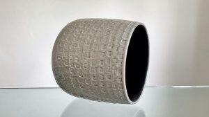 Grey ceramic Pot 22 cm